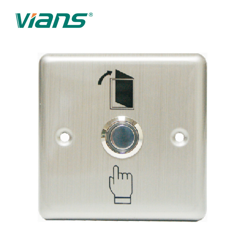 CE FCC Approval Door Exit Button 3A/36V DC For Security Door Access Control System